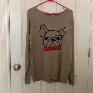 Sweaters - Cute pug sweater!